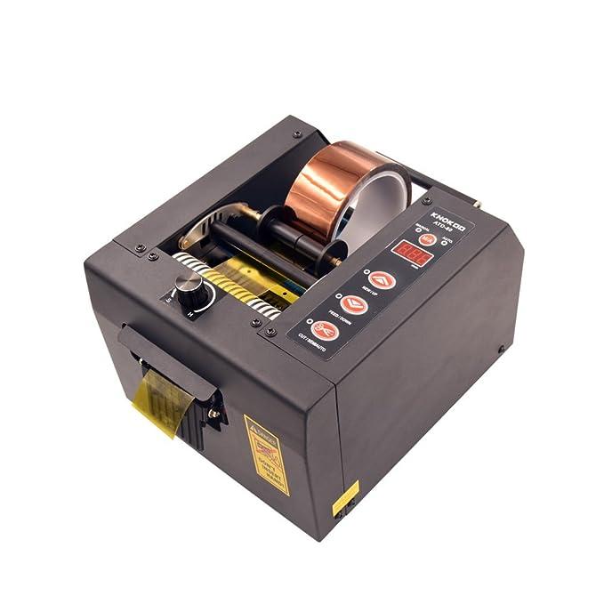 knokoo Heavy Duty automático dispensador de cinta adhesiva atd-80 Auto cortador de cinta máquina para 8 80 mm ancho cinta: Amazon.es: Oficina y papelería