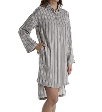DKNY Women s Evolving Ethos Long Sleeve Sleepshirt at Amazon Women s ... c8a516da9