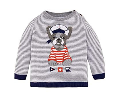 1599dcd0daad Mayoral Baby Boys Striped Sweater - Marble