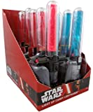 Disney's Star Wars Light Up Cross Guard Lightsaber Candy Suckers, Assorted Fruit (Pack of 10)