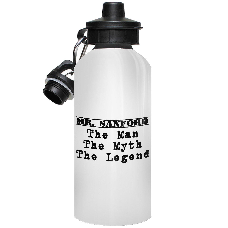 Winfitz Mr. Sanford Wasser Flasche, personalisierbar, Geschenk, The ...
