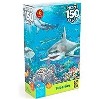 Grow Quebra-Cabeça, Tubarões, 150 Peças