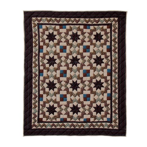 Patch Magic 50-Inch by 60-Inch Star Light Throw
