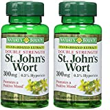 Nature's Bounty St. John's Wort 300 mg Caps, 100 ct, Pack of 2 … (Pack of 2)