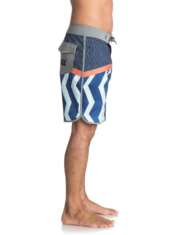 Quiksilver Mens Crypto Zig Zag 20 Boardshort Swim Trunk