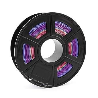 Filamento multicolor multicolor PLA 3D para impresora, precisión ...