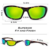 KastKing Hiwassee Polarized Sport Sunglasses for