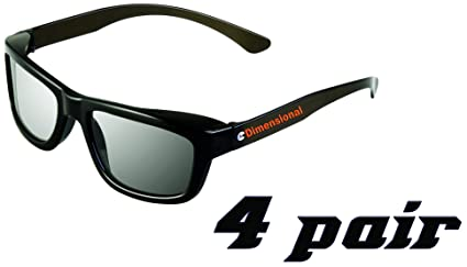 abb5040772 eDimensional Real-D Circular Polarized 3D Glasses for Passive 3D  Televisions