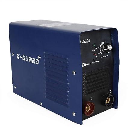Z&Y AT-9302 Máquina de soldadura de soldador de electrodo Soldadora del inversor con mango