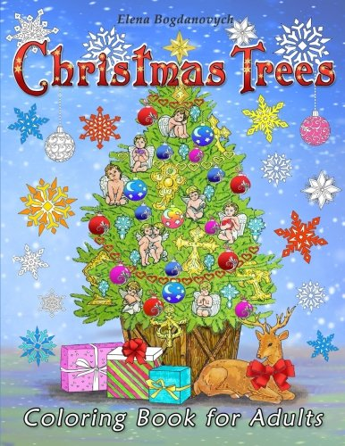 Price comparison product image Christmas Trees: Coloring Book for Adults