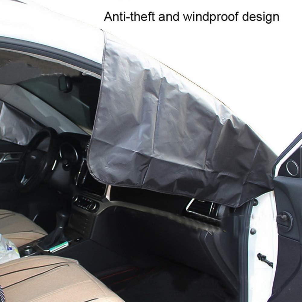 Protezione per Parabrezza Pellicole protettive antighiaccio Auto Magnetico Telo Copri Parabrezza Copriparabrezza per la Maggior Parte dei Veicoli 210x120cm Amokee Protezione Parabrezza Antighiaccio