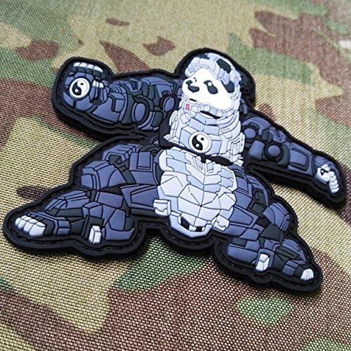TACOPSGEAR Iron Panda 3D PVC Rubber Patch
