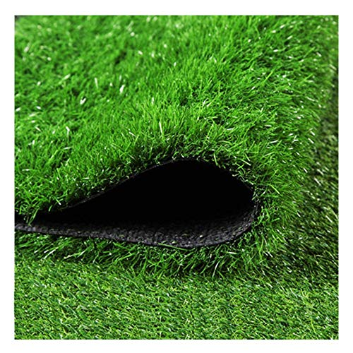 ALGWXQ Synthetic Artificial Grass Turf Thicken Encryption Safety Patio Kindergarten Club Artificial Grass Turf Lawn, 4 Meters Wide (Color : A-4.0cm, Size : 4mx5m)