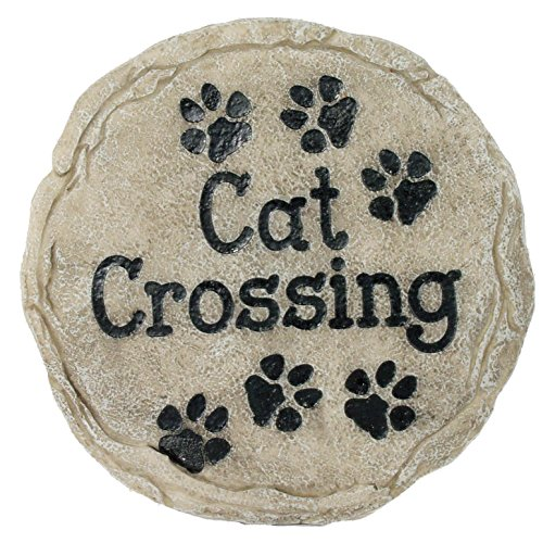 Spoontiques Cat Crossing Stepping Stone (Crossing Stone)