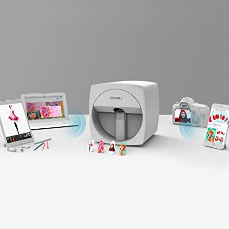 Amazon Com O 2nails Digital Mobile Nail Art Printer V11 Portable