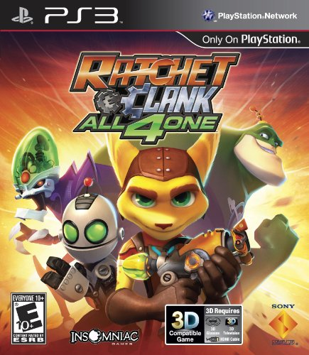 Sony PlayStation 98175 Ratchet & Clank: All 4 One PS3 (Sonic And All Stars Racing Transformed Characters)