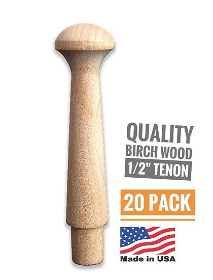 Amazon.com: Madera de abedul Shaker pinzas, 3 – 1/2 ...