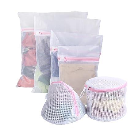 6 bolsas para guardar la ropa de Vivifying, reutilizables ...