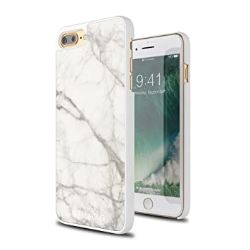 94051c81a5 iPhone 7 Plus and 8 Plus Marble Case, Snugg Apple iPhone 7 Plus and 8