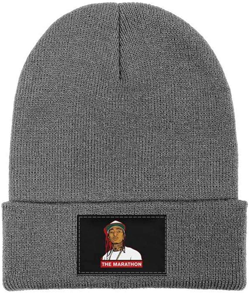 Crenshaw Unisex Warm Printed Beanie Knitted Hat Windproof Hedging Cap Skull Hat