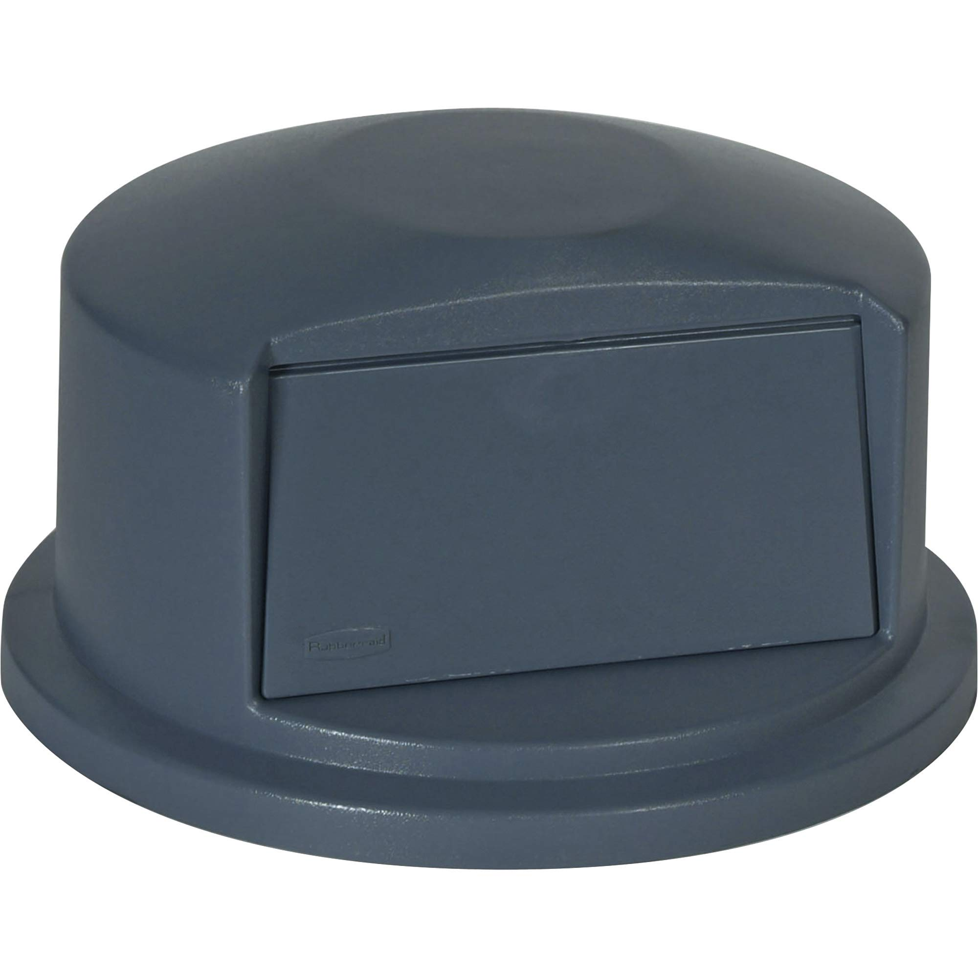 Rubbermaid Commercial Heavy-Duty BRUTE Dome Swing Top Door Lid for 32 Gallon Waste/Utility Containers, Plastic, Gray (FG263788GRAY) by Rubbermaid Commercial Products