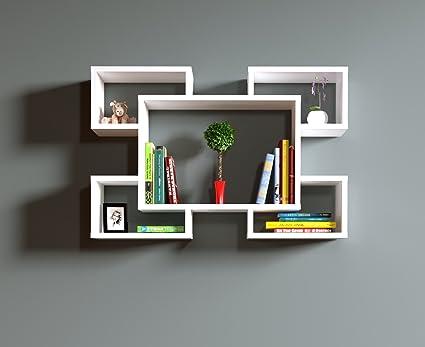 Homidea RACKY Mensola da muro - Mensola Parete - Mensola Libreria ...