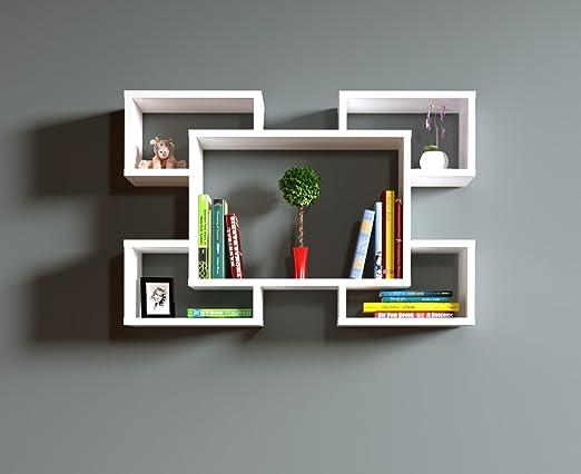 3 opinioni per RACKY Mensola da muro- Mensola Parete- Mensola Libreria- Scaffale pensile per