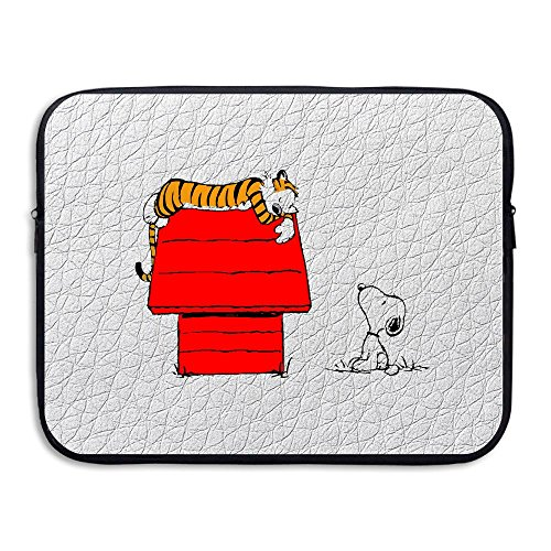 [Custom Calvin And Cute Hobbes Shock-Resistant Notebook Sleeve Bag Size 15 Inch] (Hobbes Costumes For Sale)