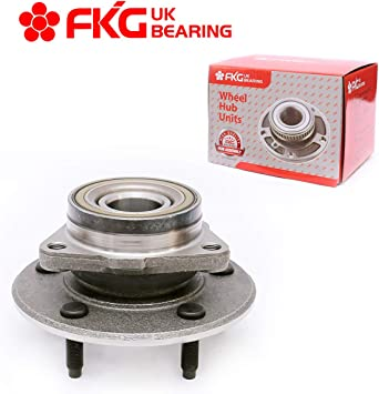 Two 515072 Front Wheel bearing Hub assembly for Dodge Ram 1500 2002 2003 2004 2005 2006 2007 2008