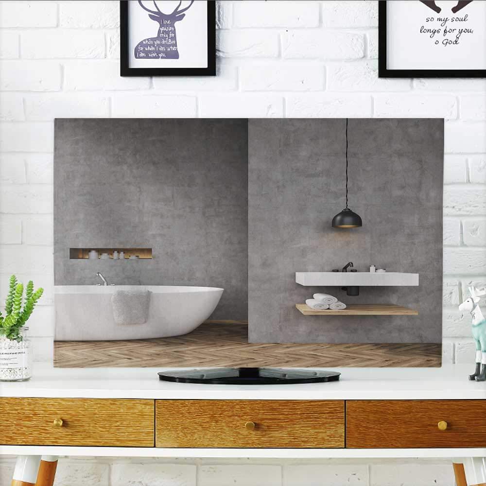 Amazon Com Philiphome Cover For Wall Mount Tv Bathroom Interior