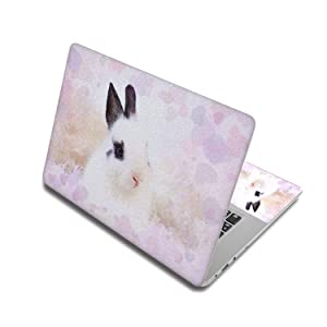 Puppy Cute Laptop Sticker For Computer Cover Notebook Skin Decals For Acer/Hp/Dell/Sony/Xiaomi/Mac,15 Inch(38x27cm),Laptop Skin 4