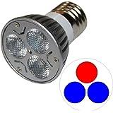 グランクリエイト Grand Create LED 3W 60度 青2赤1 GC-3W-B2R1