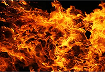 Amazon Com Baocicco 7x5ft Raging Fire Backdrop Flame Wallpaper Decor Passion Black Background Photography Background Blogger Campfire Party Activities Birthday Baby Room Children Adults Portrait Studio Prop Camera Photo