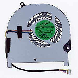 Rangale Replacement CPU Cooling Fan for Toshiba Satellite Radius P55W-C P55W-C5200D P55W-C5204D P55W-C5210-4K P55W-C5200X P55W-C5208-4K P55W-C5314 P55W-C5316 Series Laptop