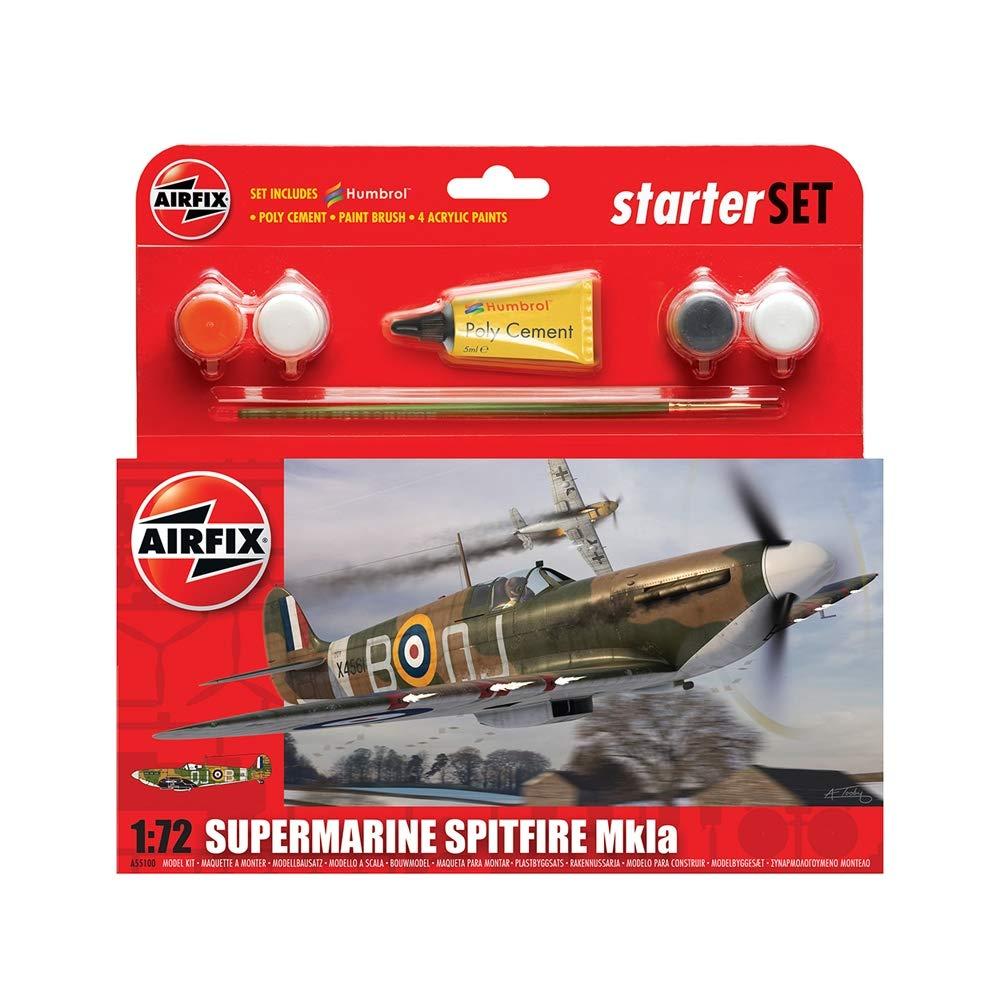 Airfix - Kit pequeño con Pinturas, avión Supermarine ...