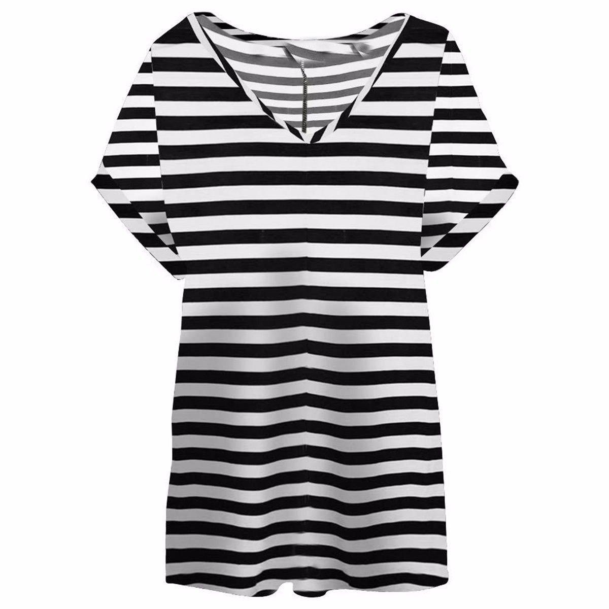 Blush Avenue® Womens Oversize Fit V Neck Top Ladies Baggy Plus Size Batwing Casual T Shirt sizes 8-24 Vneck Top Fashion1st