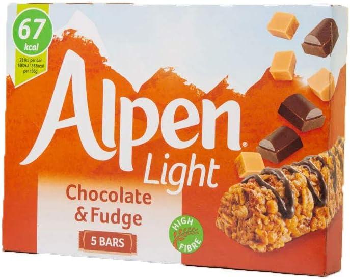 Weetabix Alpen Light Bars Choc&Fudge (5X21G) (Barritas De Cereales): Amazon.es: Alimentación y bebidas