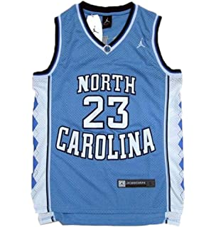 9836fa9e0c40 Amazon.com  Ausimiar Mens 23  North Carolina Basketball Jersey Retro ...