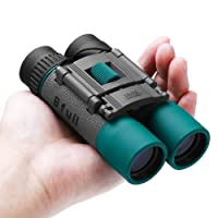 BFULL mini Binoculars compact Folding waterproof Binoculars 10x25 Telescope for adults Bird watching, Football Safari Sightseeing Climbing Concerts, Sport,gift Hiking, Camping and Travel(Black )