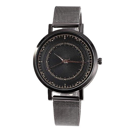 Relojes De Pulsera para Mujeres,Waterproof Distinguished Reloj Mujer Reloj NiñA Reloj Negro Mujer Relojes SeñOra(Regalo del DíA De La Madre) (#8): ...