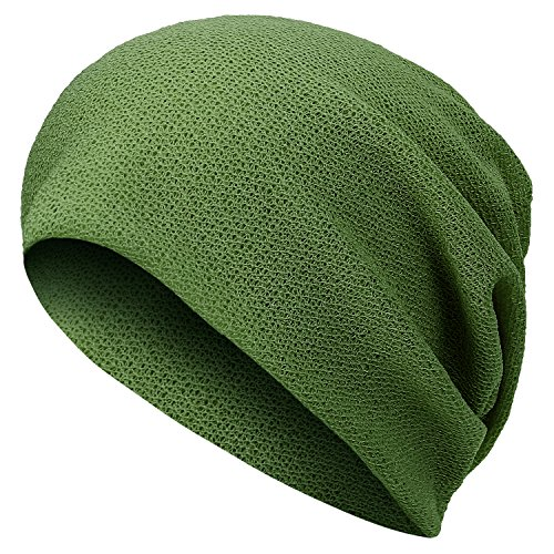 purpose Snood Beanie Neck Skull Netted Multi Reversible ililily Green Summer Efw78qxyC
