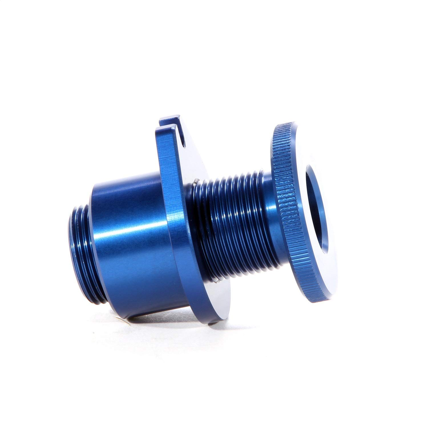 BBK 15050 Clutch Cable Under Hood Firewall Adjuster For Ford Mustang - Blue Anodized Finish BBK Performance