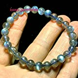 Royal Flashing Labradorite bracelet, 6mm small bead stacking bracelet, wrist mala beads, meditation bracelet, for protection, intuition & strength