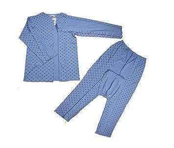 HHORD Fractura cama parálisis anciano fácil de usar ropa enferma pijamas Cuidado en el hogar Ropa: Amazon.es: Deportes y aire libre