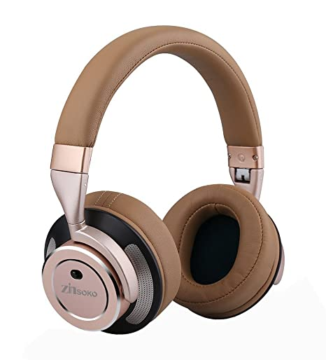 e60ef8ee150 Zinsoko Z-H01 Wireless Active Noise Cancelling Headphones Over Ear Bluetooth  Headphone Foldable With Hi