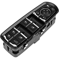 Qiilu Window Switch Power Master Window Control Switch Grootte voor Porsche Cayenne 2011-2016