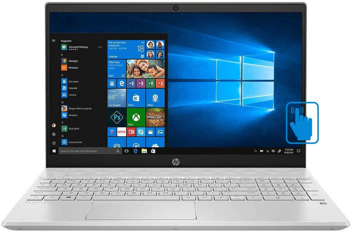 "HP Pavilion 15.6"" Touchscreen Laptop - 10th Gen Intel Core i7-1065G7 - 12GB Memory - 1TB Hard Drive"