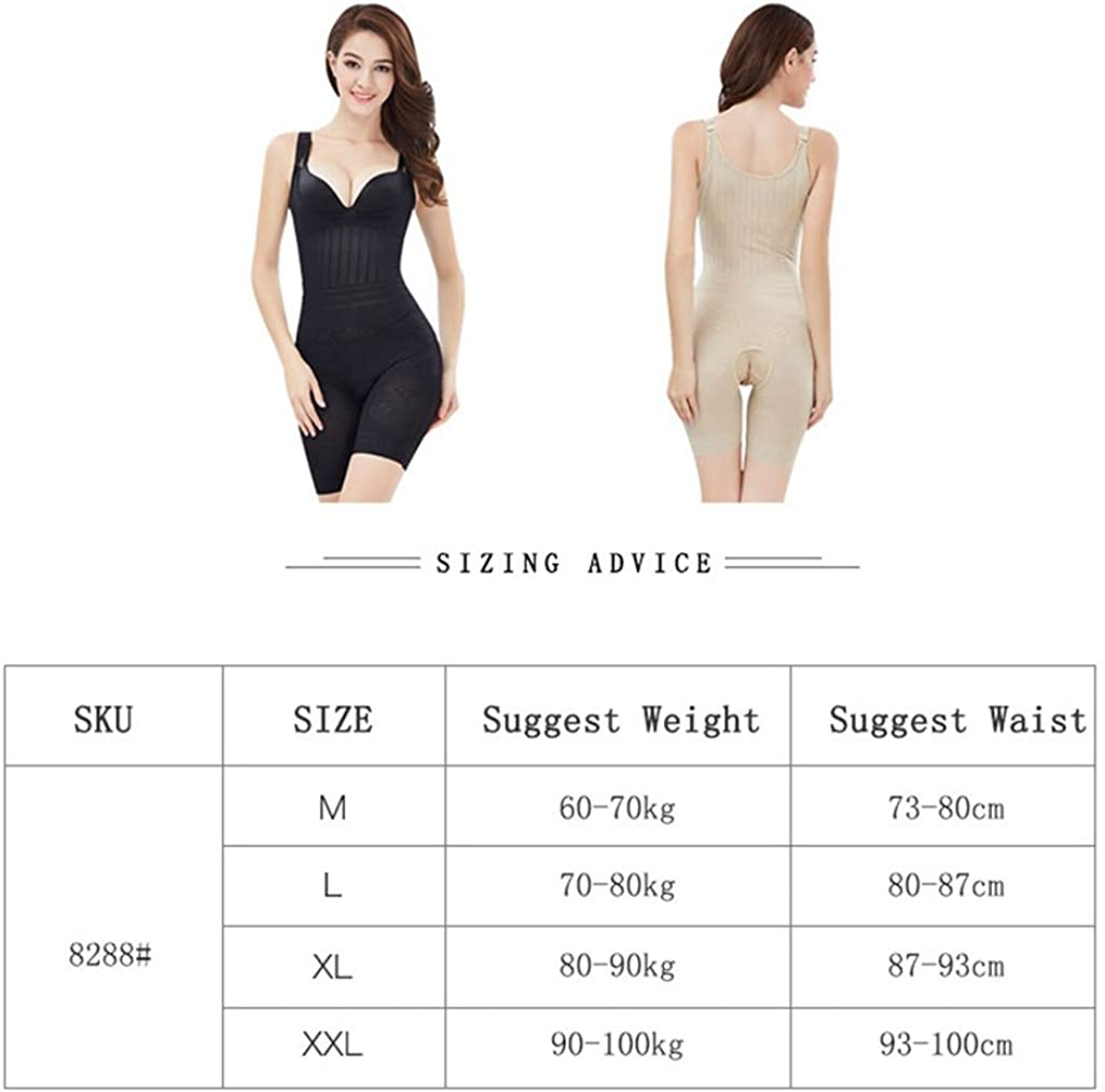 U-MAC Womens Open Bust Bodysuit Seamless Body Shaper Tummy Control Shapewear
