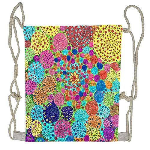 Cellcardphone Mod Squad Unisex Drawstring Backpack Drawstring Backpack Bag Beam Mouth Rucksack Shoulder Bags