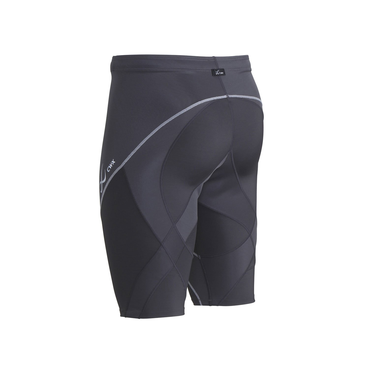 CW-X Men's Endurance Pro Shorts, Charcoal/Charcoal/Silver, Medium by CW-X (Image #5)